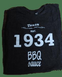 1934 BBQ T-shirt